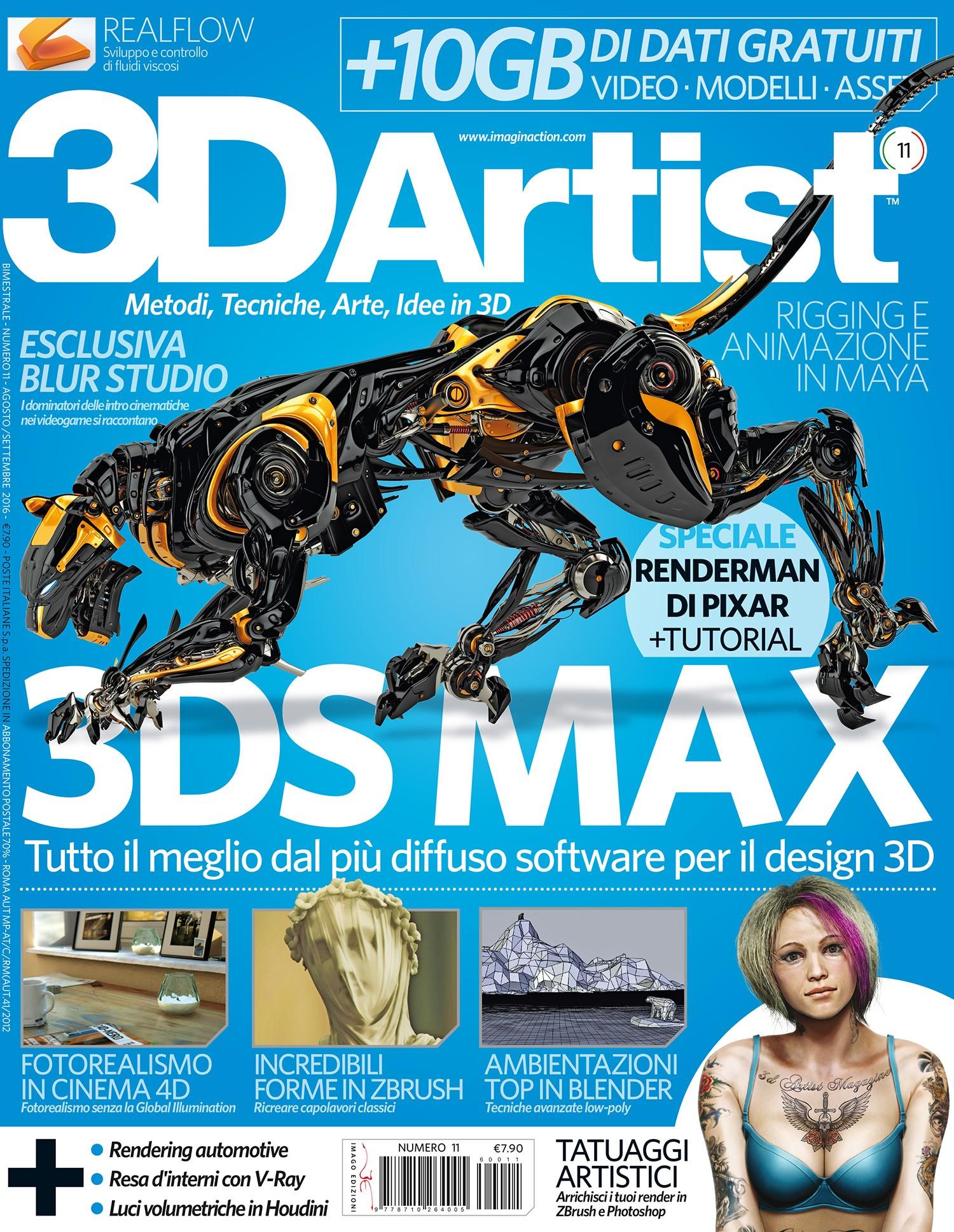 3D Artist n°11