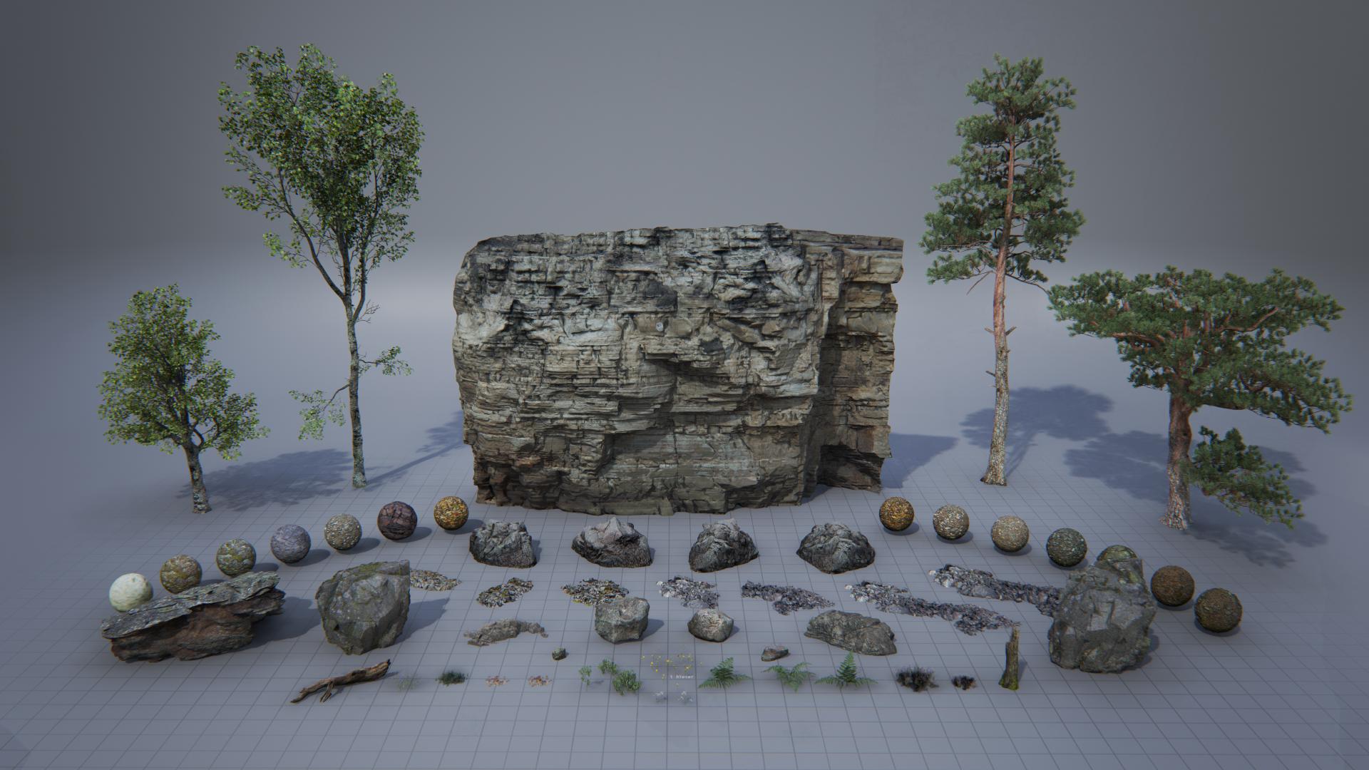 Asset 3D gratuiti del demo Unreal Kite | Imaginaction