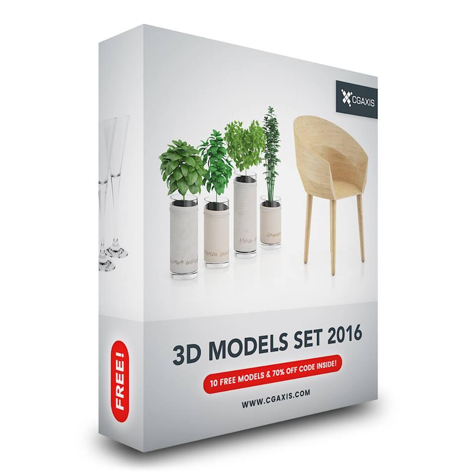 10 modelli 3d gratuiti cgaxis imaginaction for Arredi 3ds