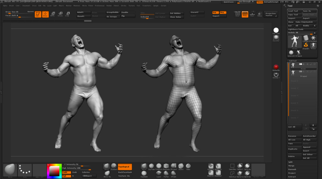 Zbrush-Scan